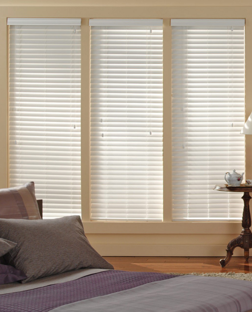 mini blinds faux inch window plantation g wood sidelight lowes interior